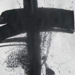 kreuz-ac-auf-papier-70x50-cm